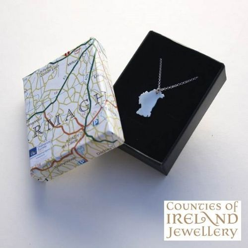 County Armagh Map Pendant